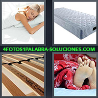 4 Fotos 1 Palabra - Mujer durmiendo |