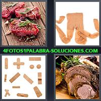 4 Fotos 1 Palabra - Medias o pantimedias color piel |