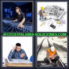 4 Fotos 1 Palabra - arquitecto mezclador |