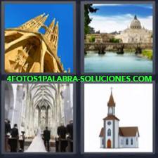 4 Fotos 1 Palabra - catedral boda Ceremonia en boda Palacio Parroquia |