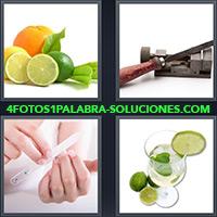 4 Fotos 1 Palabra - Lima de uña |