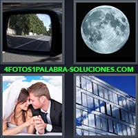 4 Fotos 1 Palabra - Pareja de recién casados |