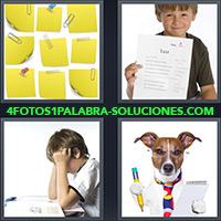 4 Fotos 1 Palabra - Post-it o notas |