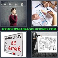 4 Fotos 1 Palabra - TO-DO List, Be Better |