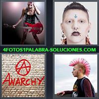4 Fotos 1 Palabra - A Anarchy Graffiti |