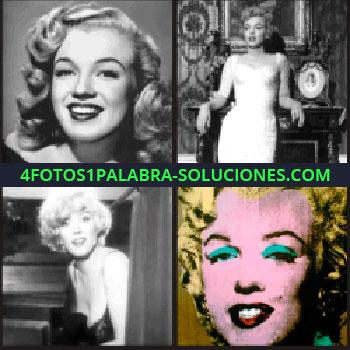 4 Fotos 1 Palabra - 4 fotos de Marilyn, Marilyn Monroe