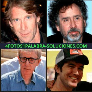 4 Fotos 1 Palabra - 4 fotos de hombres, Woody Allen