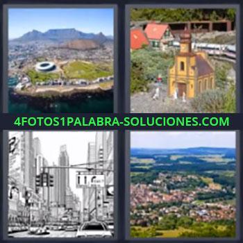 4 Fotos 1 Palabra - ocho-letras edificios, Iglesia o catedral