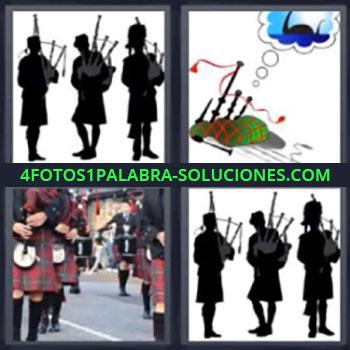 4 Fotos 1 Palabra - ocho-letras escoceses, Flautas, Instrumentos de viento