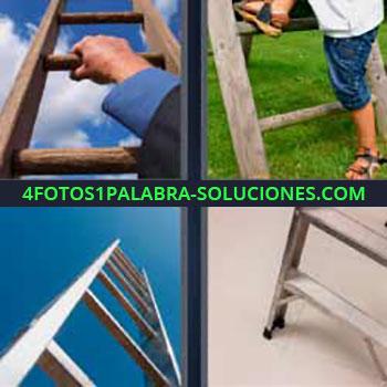4 Fotos 1 Palabra - ocho-letras escaleras. Mano escalera. Subiendo escalera. Imágenes de escaleras y escalones.