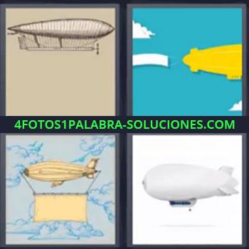 4 Fotos 1 Palabra - siete-letras Jugar 4 fotos 1 palabra, Globo aerostático, Globos dirigibles.