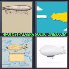 4 Fotos 1 Palabra - Globo aerostático Globos dirigibles |